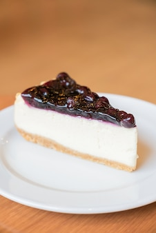 Cheesecake de mirtilo