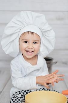 Chef bonitinho
