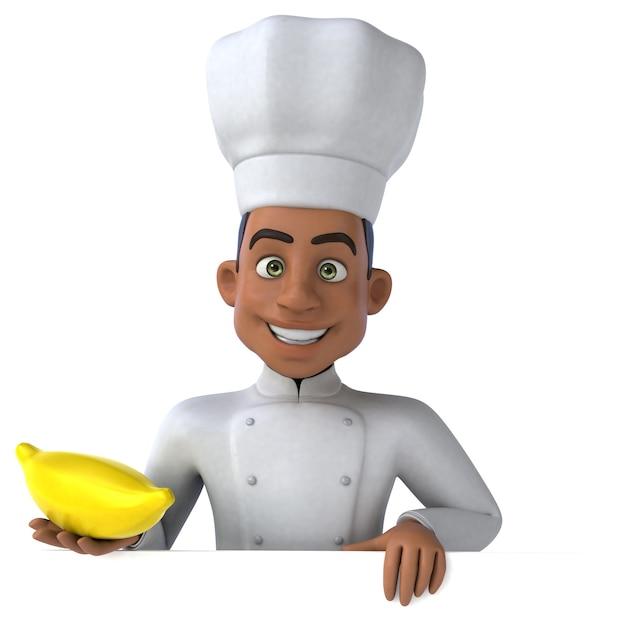 Chef engraçado