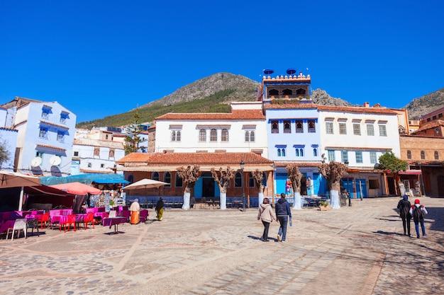 Chefchaouen em marrocos