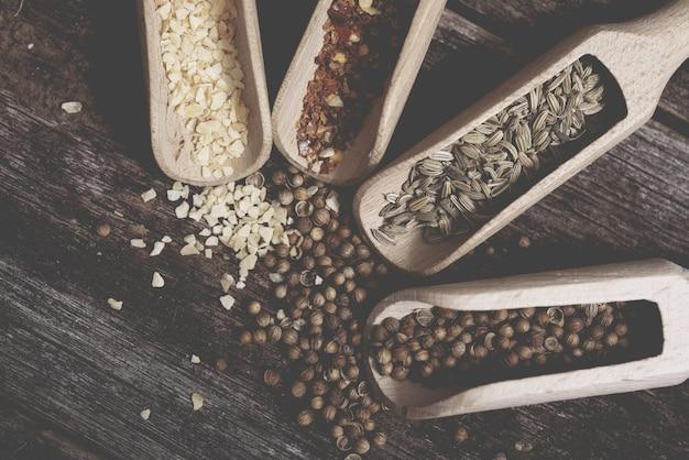 Cheio de aromas aromáticos