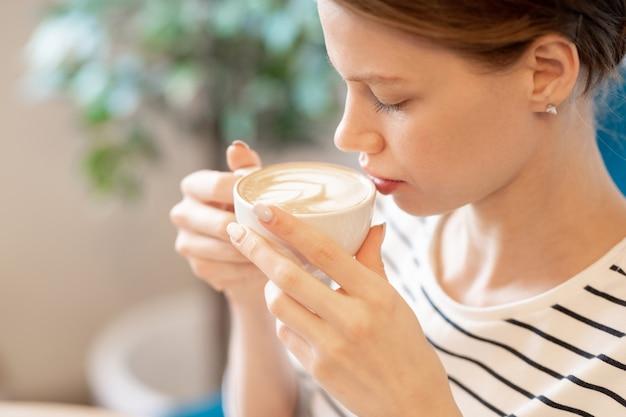 Cheiro de cappuccino