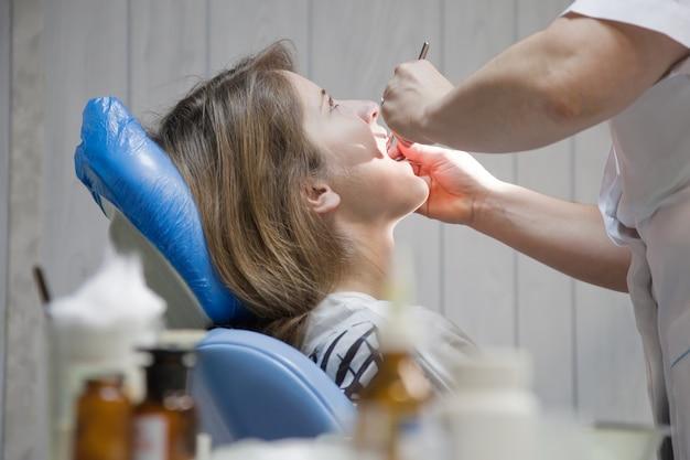 Chequeio odontológico