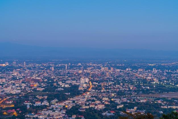 Chiang mai, horizonte da cidade de tailândia