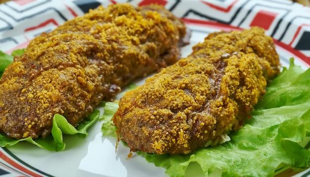 Chicken tikka kebab - o prato de frango mais popular é originário da índia