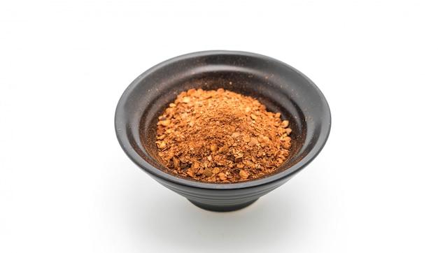 Chilli em pó - condimentos de macarrão