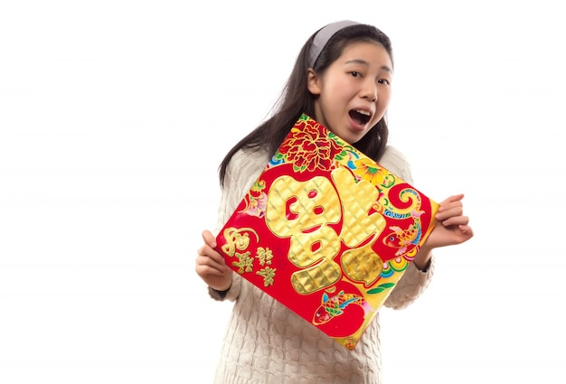 China bonita vestir um lunar