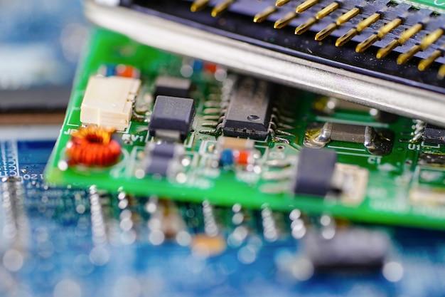 Chip de cpu do computador
