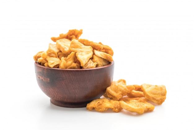 Chips crocantes de abacaxi
