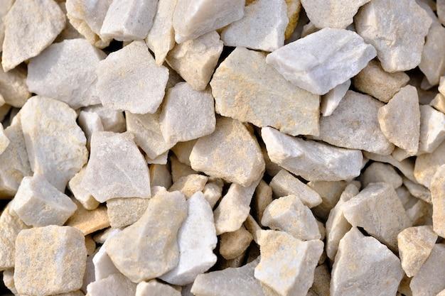 Chips de mármore decorativos