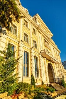 Chisinau moldova outubro casa moderna edifício arquitetura moderna
