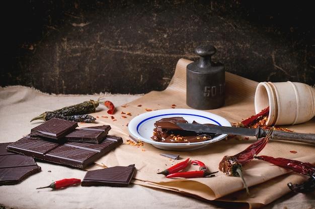 Chocolate e pimenta