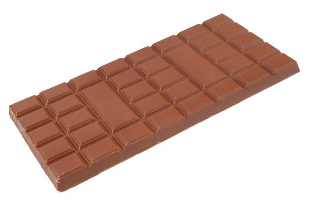 Chocolate em um branco