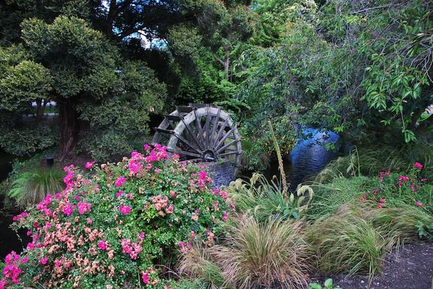 Christchurch na ilha sul, nova zelândia