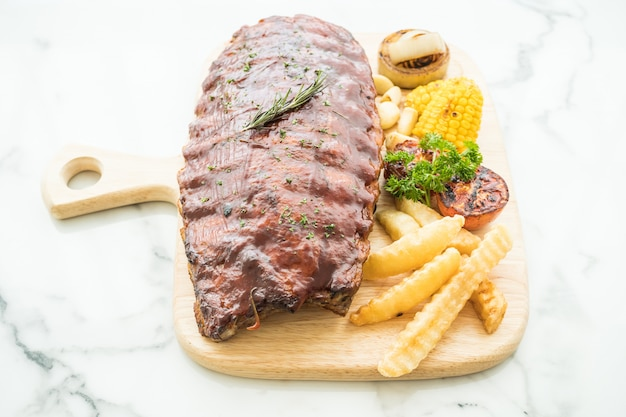 Churrasco de costela