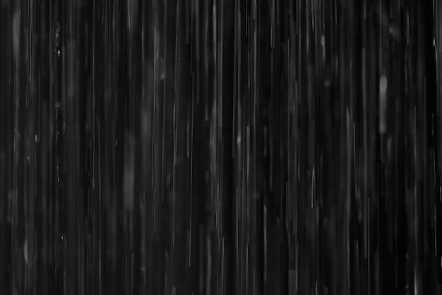 Chuva em preto. abstrato.