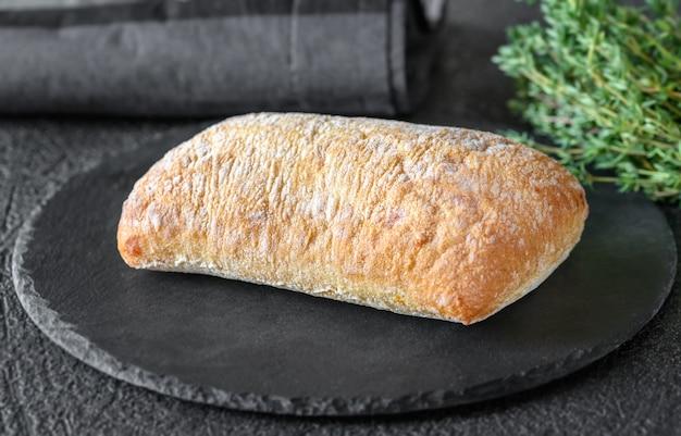 Ciabatta - pão branco italiano