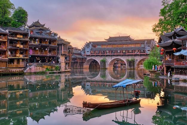 Cidade antiga de feng huang (cidade antiga de phoenix), china