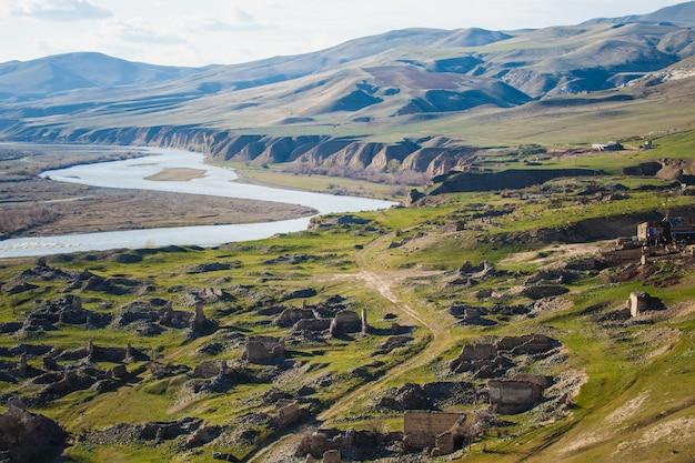 Cidade antiga de uplistsikhe na geórgia