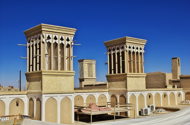 Cidade antiga yazd no irã