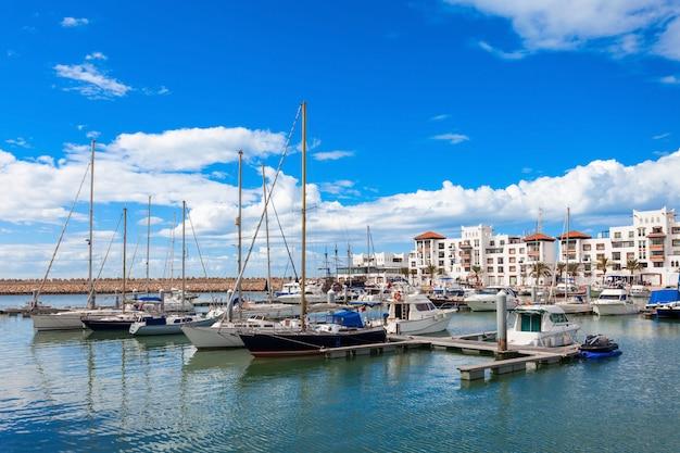 Cidade de agadir, marrocos