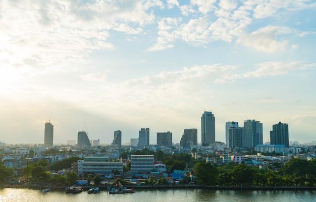 Cidade de bangkok na tailândia