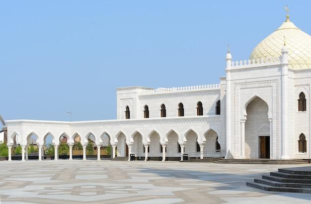 Cidade de bolgar, tartaristão, rússia: mesquita branca