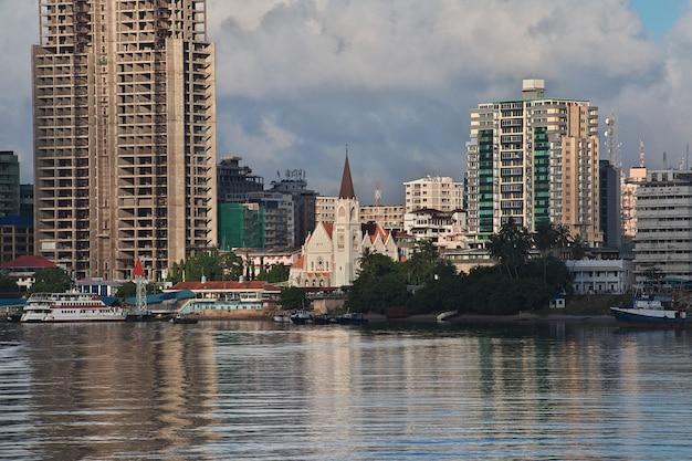 Cidade de dar es salaam na tanzânia