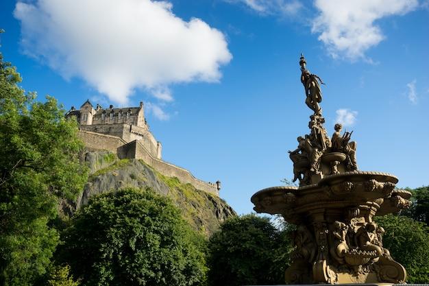 Cidade de edimburgo, escócia, reino unido