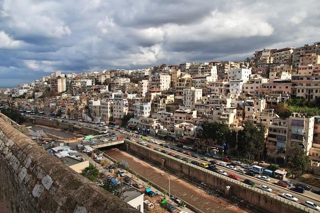Cidade de trípoli no líbano, oriente médio