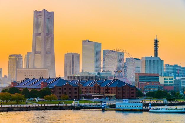 Cidade do horizonte de yokohama
