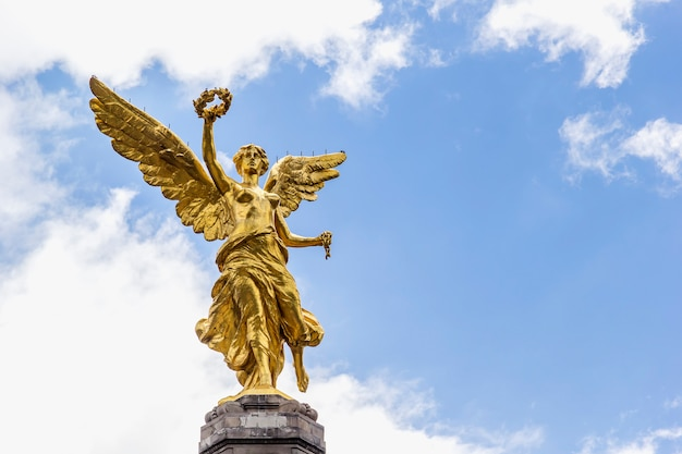 Cidade do méxico, monumento do anjo da independência