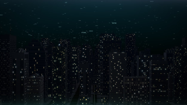 Cidade gerada por computador
