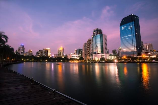 Cidade grande, bangkok, tailandia