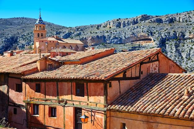 Cidade medieval de albarracin na espanha de teruel
