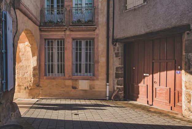 Cidade medieval rocamadour na frança