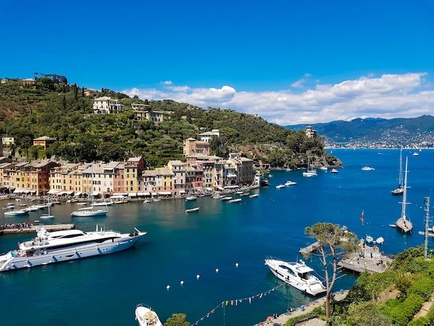 Cidade portofino na itália