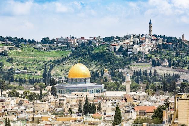 Cidade sagrada de jerusalém