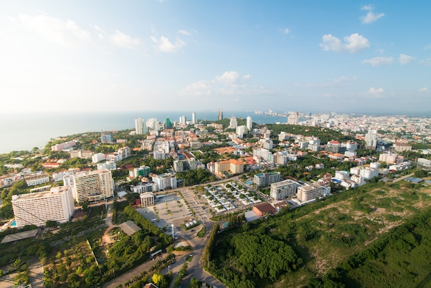 Cidade scapes pattaya tailândia
