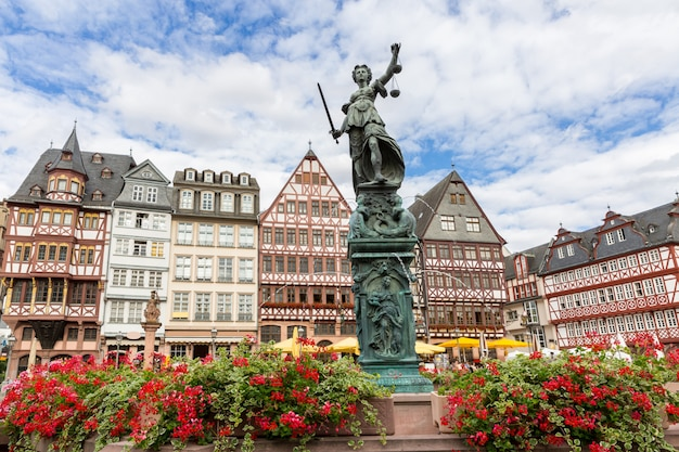 Cidade velha de frankfurt