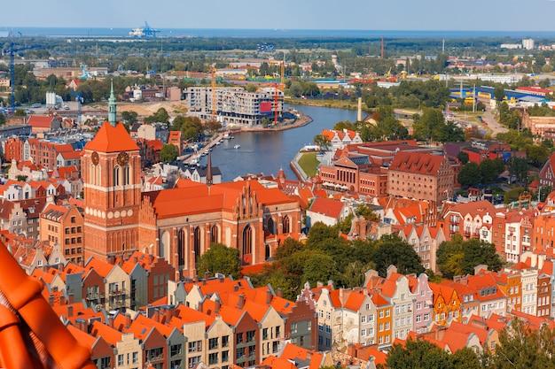 Cidade velha de gdansk, polônia