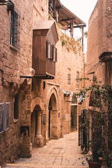 Cidade velha, jaffa, telavive, -, israel