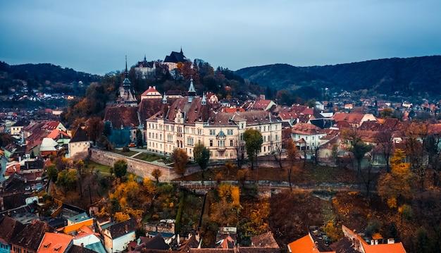 Cidadela de sighisoara na romênia