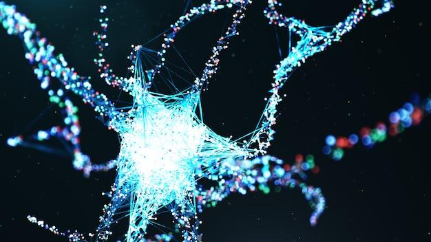 Ciência da tecnologia de rede neural artificial.