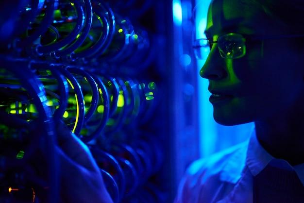 Cientista de computação feminino