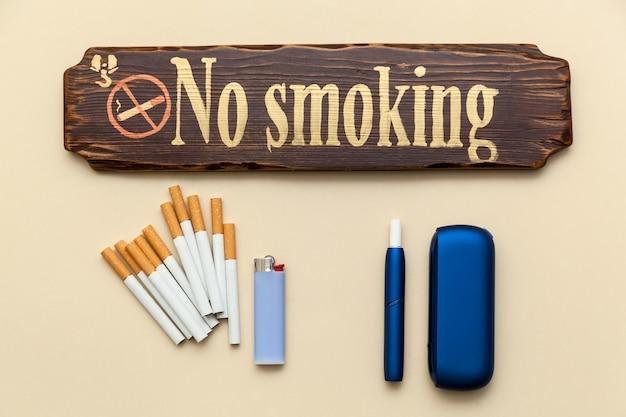 Cigarro eletrônico iqos azul cigarros comuns