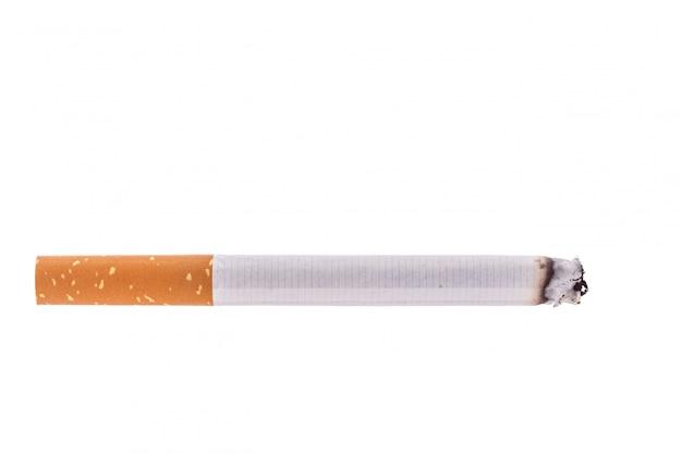 Cigarro. tiro do estúdio isolado