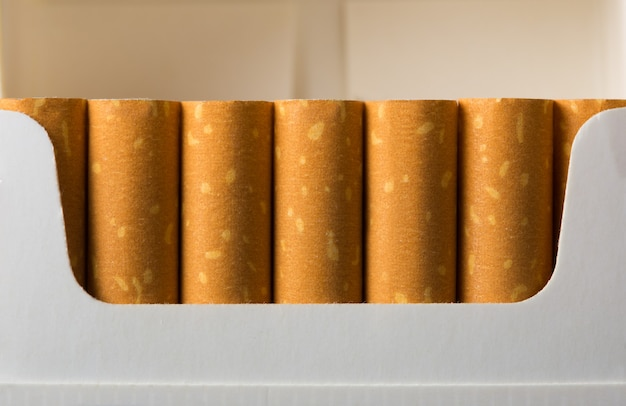 Cigarros no pacote