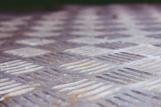 Cima, antigas, folha metal, tábua, fundo, textura