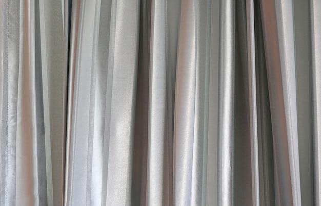 Cima, de, cinzento, cortina, fundo, textura